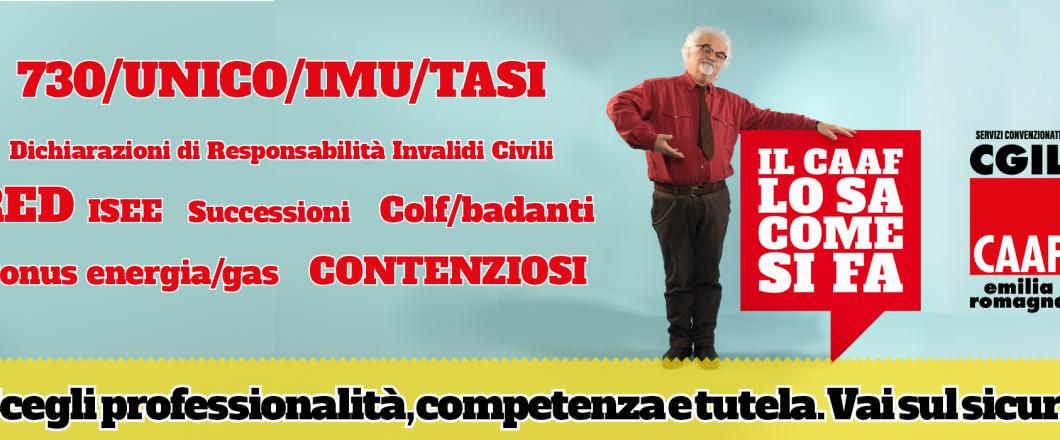 CAAF CGIL Emilia Romagna - Il CAAF lo sa come si fa