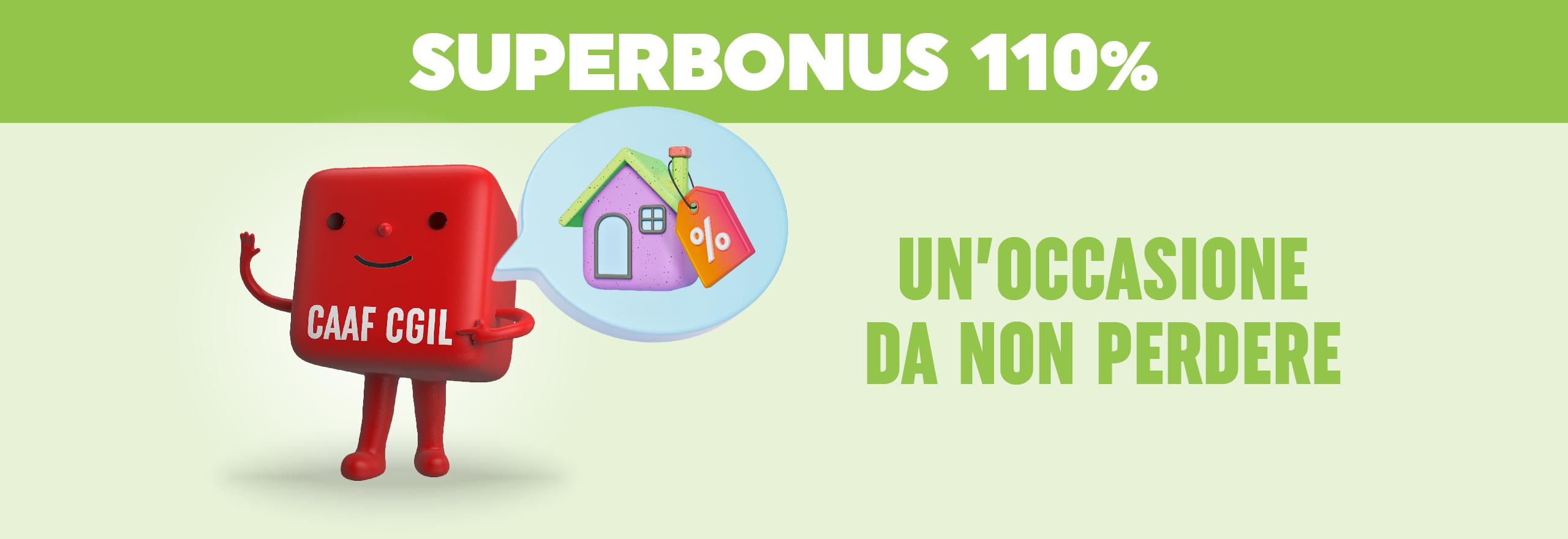 Caaf Emilia Romagna - Bonus 110% un occasione da non perdere